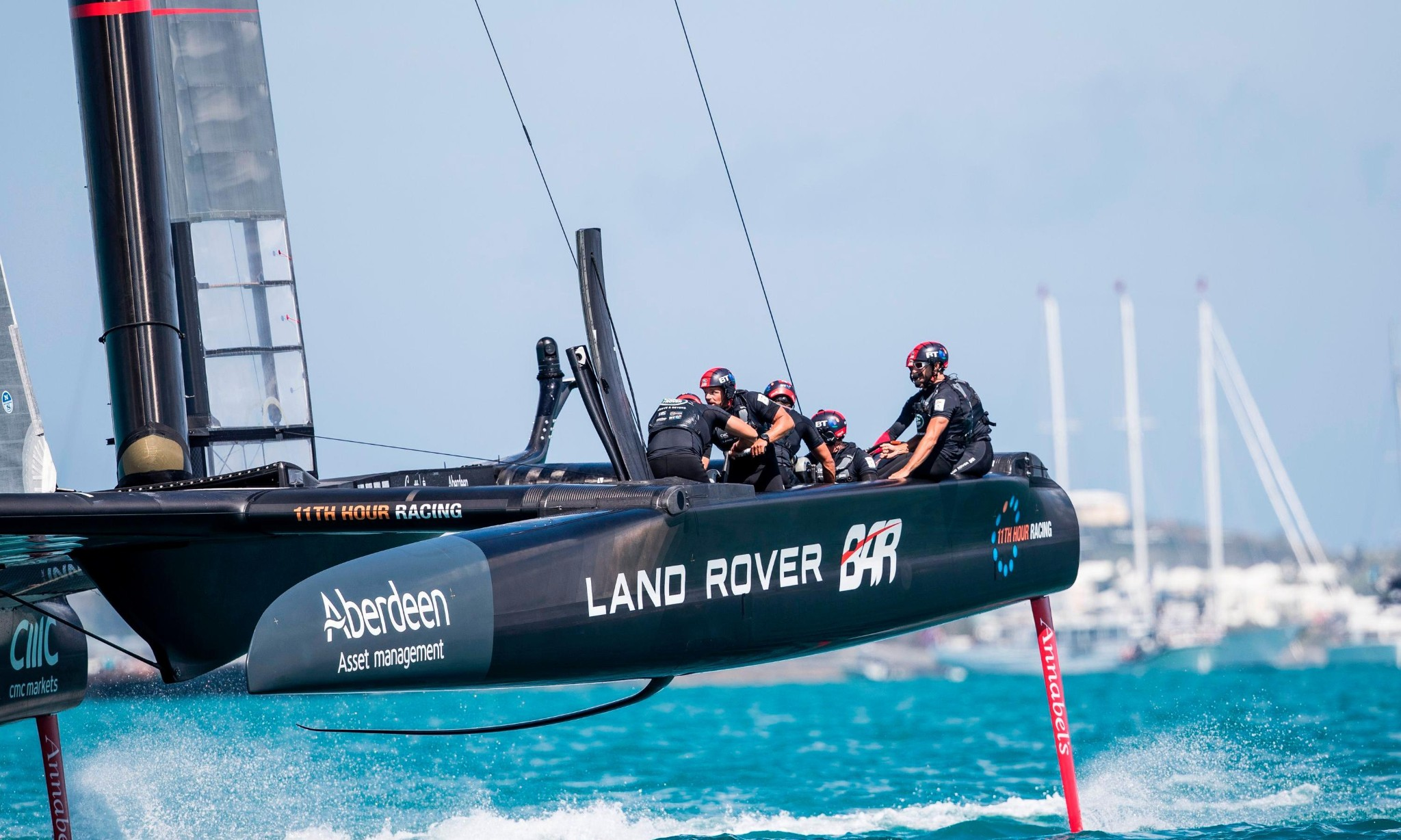 Ben Ainslie's Land Rover BAR team lose two America's Cup qualifiers