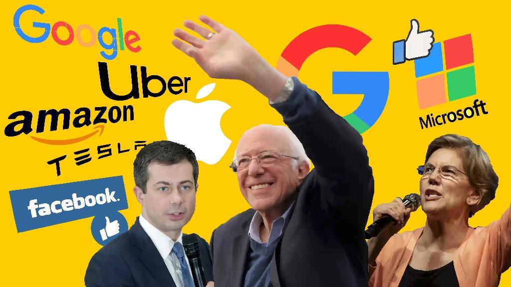 Bernie? Warren? Which candidate is raking in the most tech industry dollars?
