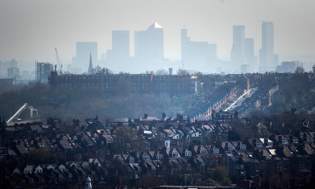 London the worst city in Europe for health costs from air pollution
