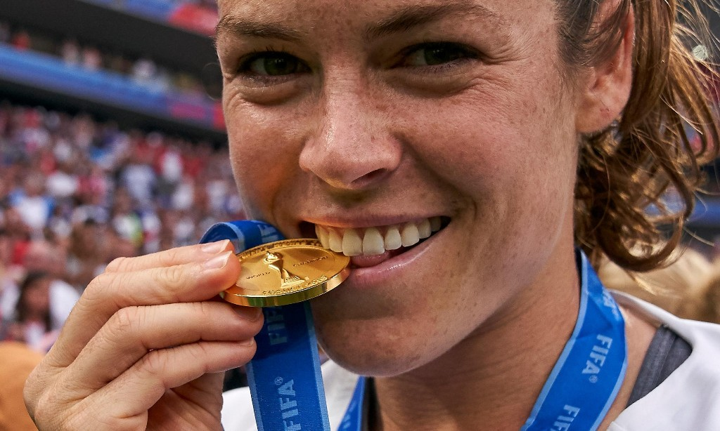 Kelley O'Hara: the World Cup winner giving female athletes a powerful voice