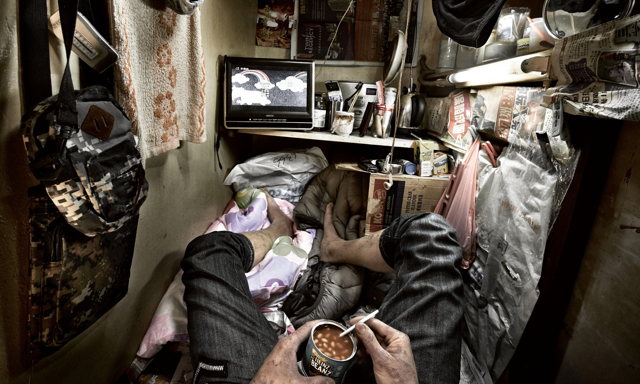 Boxed in: life inside the 'coffin cubicles' of Hong Kong – in pictures