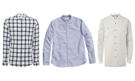 Men's grandad shirts: the wish list – in pictures