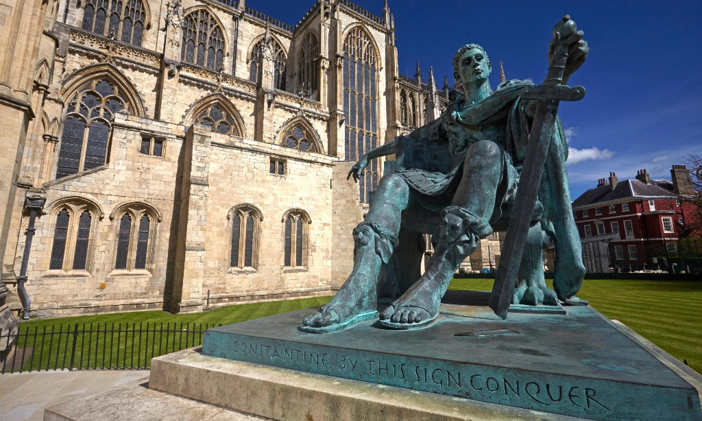 Emperor Constantine's statue and the culture war that wasn't