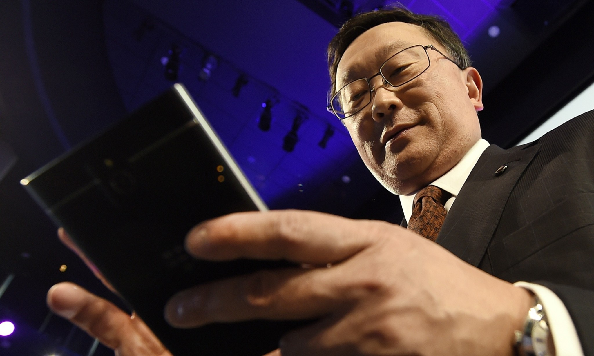 BlackBerry boss John Chen: security focus heralds return 'from edge of death'