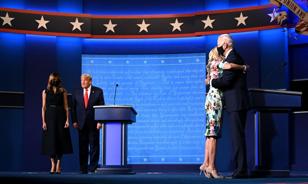 First Thing election special: Biden survives the last debate unscathed