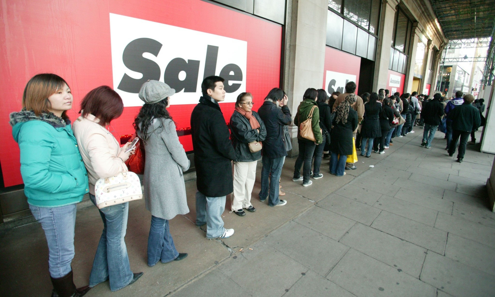 Does tech mean the end of the line for queueing?