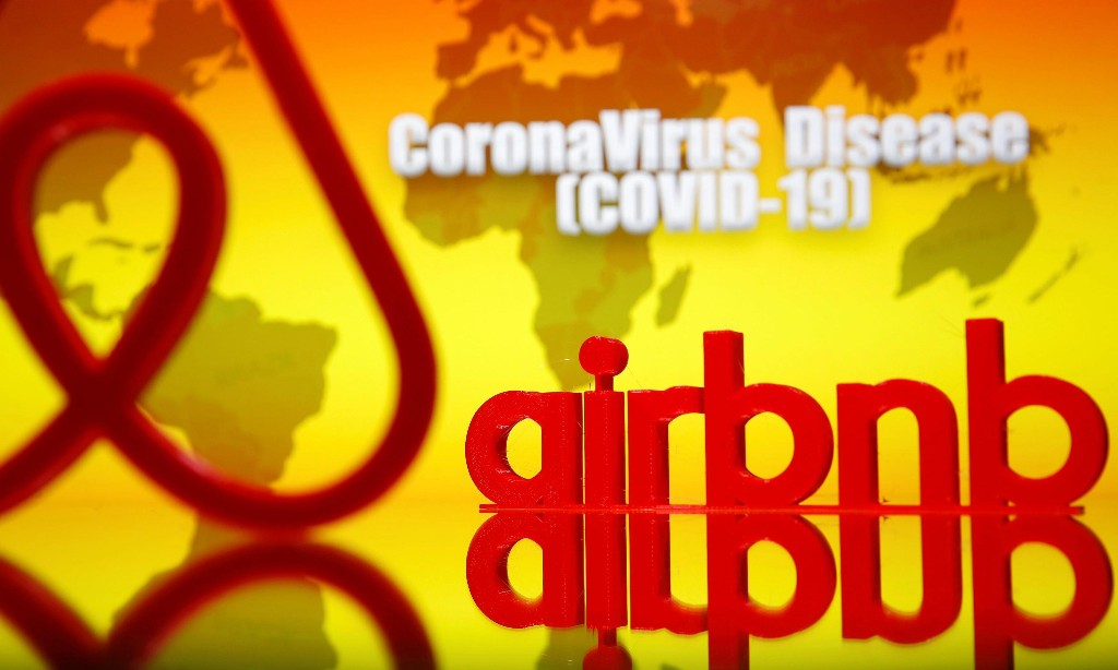 How the Covid-19 crisis locked Airbnb out of its own homes