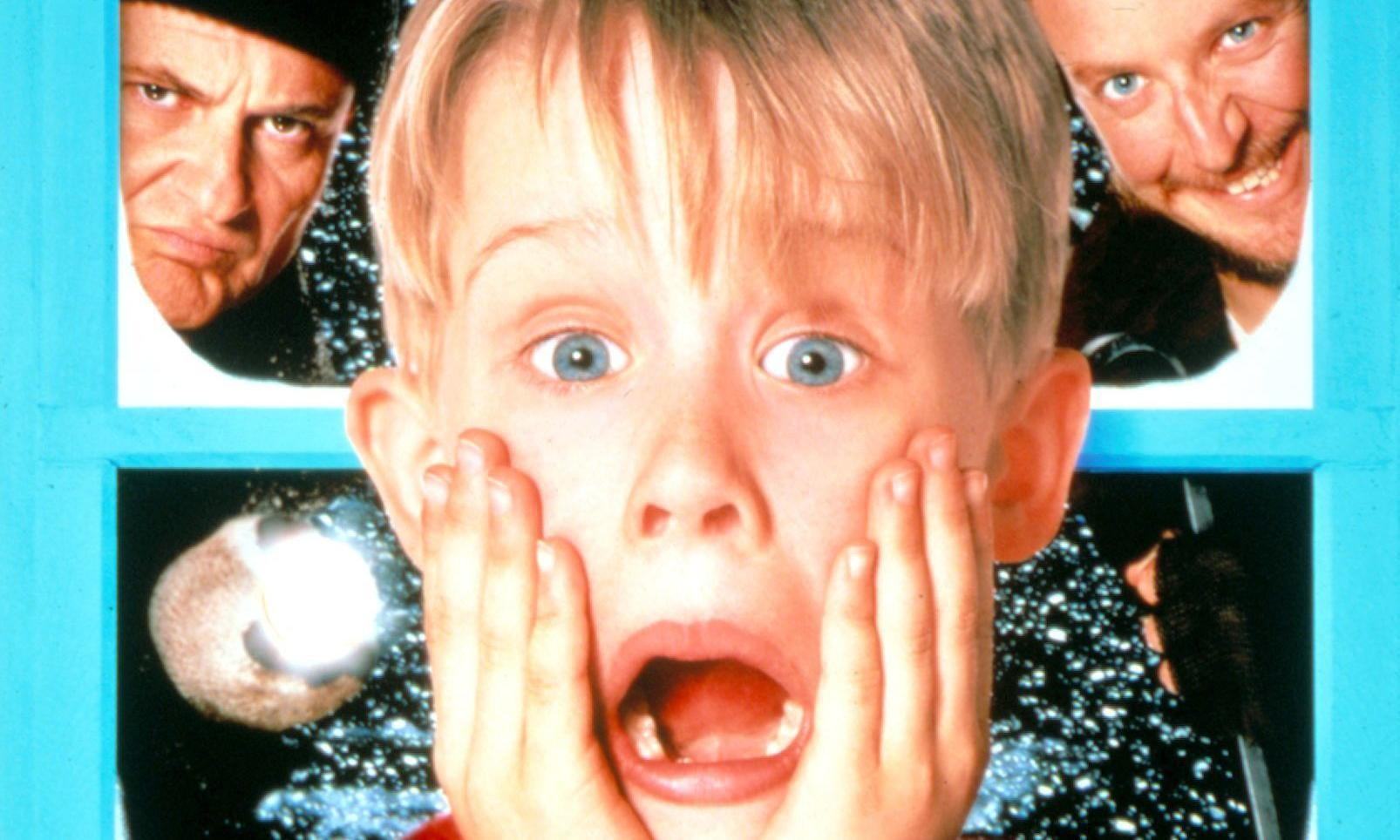 Macaulay Culkin reprises his Home Alone role as a deranged adult