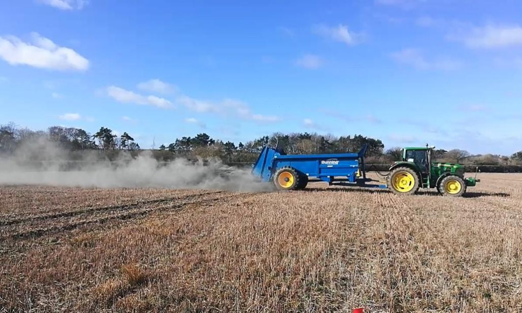 Spreading rock dust on fields could remove vast amounts of CO2 from air