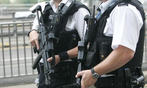 Police raids find huge arms cache linked to Islamic terror group