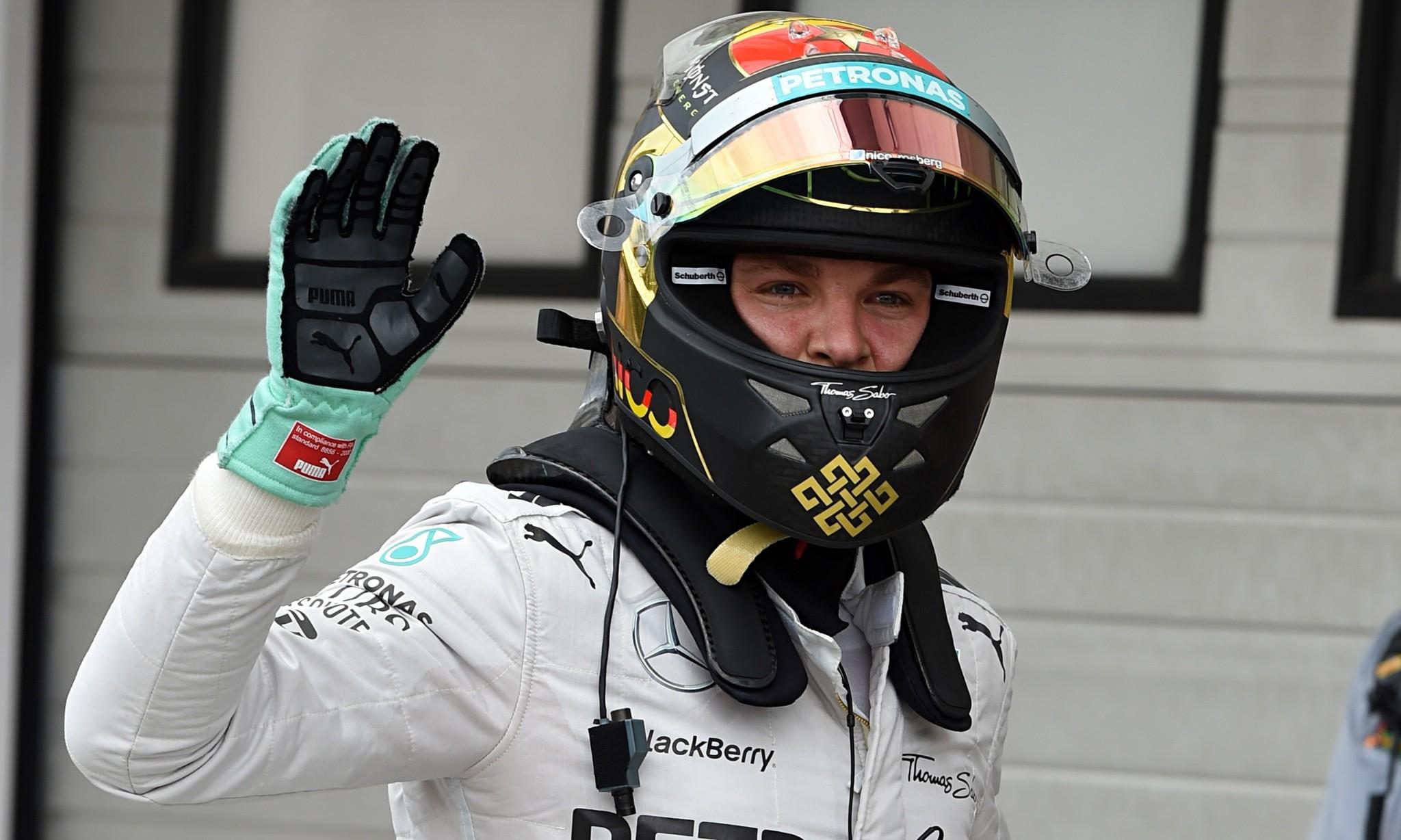 Lewis Hamilton suffers car fire while Nico Rosberg grabs Hungary pole