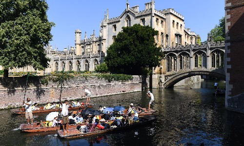 I thought I'd made it when I got to Cambridge University. How wrong I was