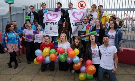 Ireland on course to be first country to legalise gay marriage by popular vote