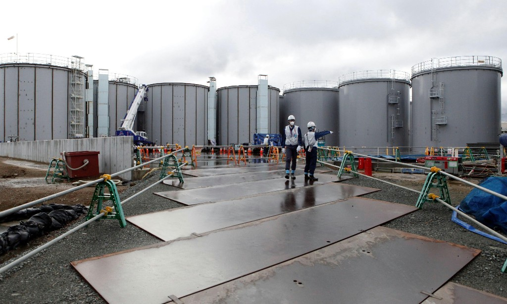 Fukushima reactor water could damage human DNA if released, says Greenpeace