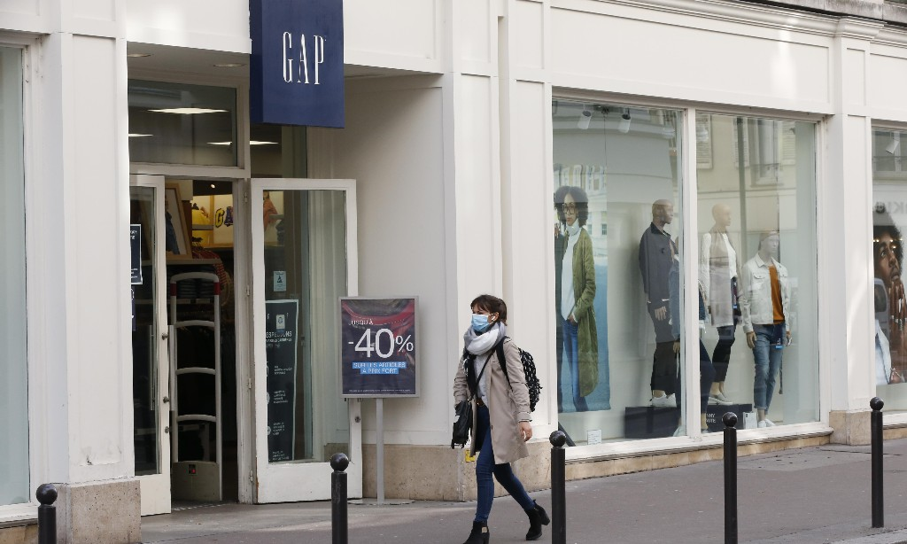 US retailer Gap considering closure of all Europe stores and UK warehouse