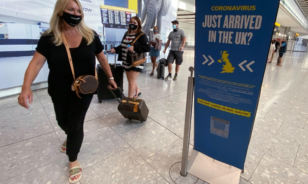 'Test to release' scheme will cut England travel quarantine to five days