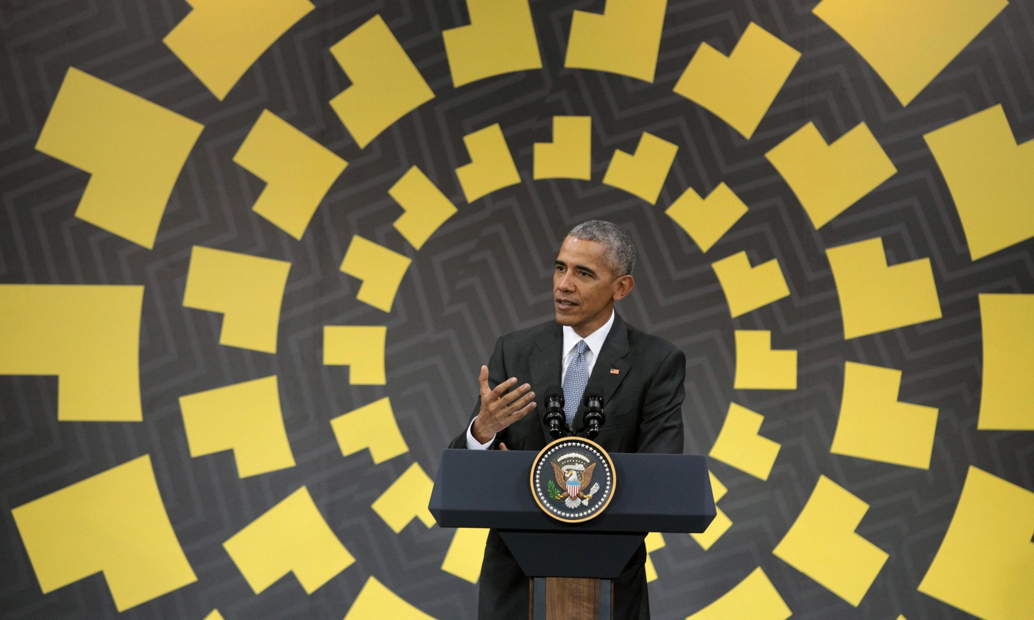Barack Obama says reality will force Donald Trump to adjust his approach