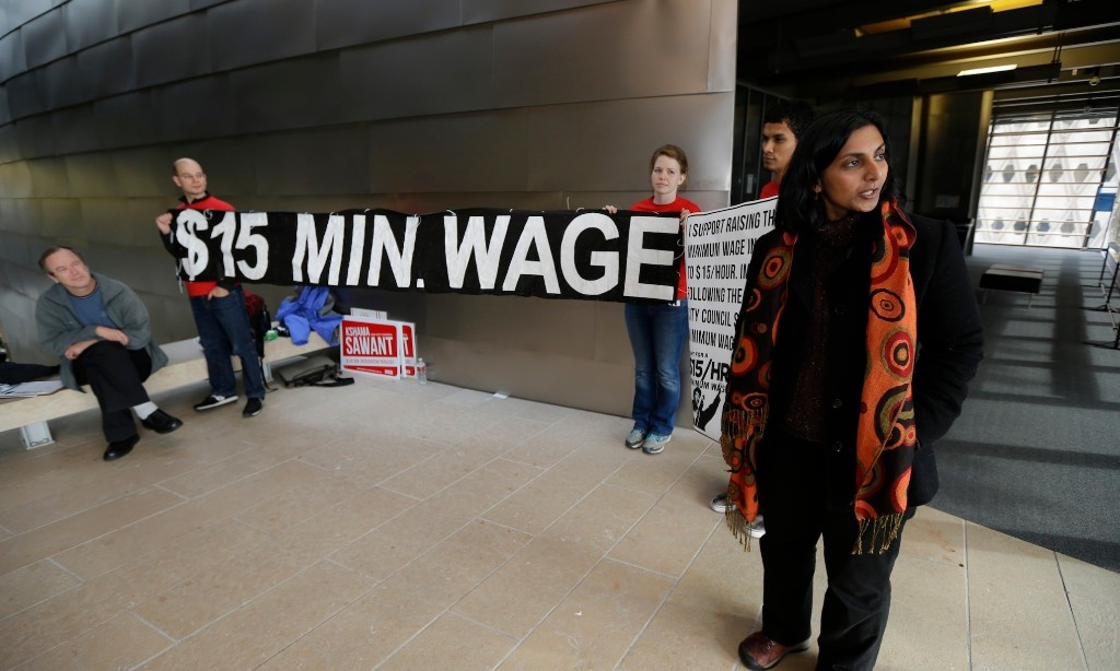 Seattle's $15/hr Minimum Wage cover image