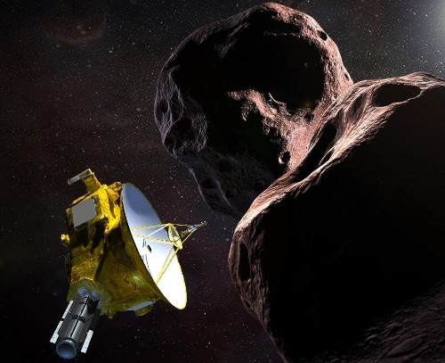 'Not just a space potato': Nasa unveils 'astonishing' details of most distant object ever visited