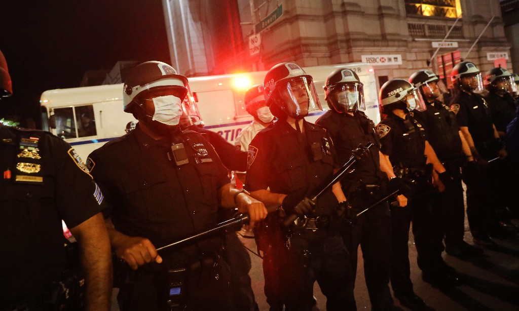 New York police take seconds to restore reputation for brutality