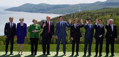 G7 in disarray after Trump rejects communique and attacks 'weak' Trudeau