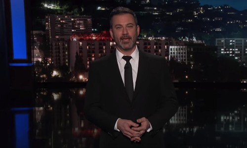 Jimmy Kimmel: 'Trump loves to disgrace us with his presence'