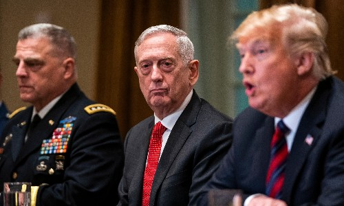 General discontent: how the president's military men turned on Trump
