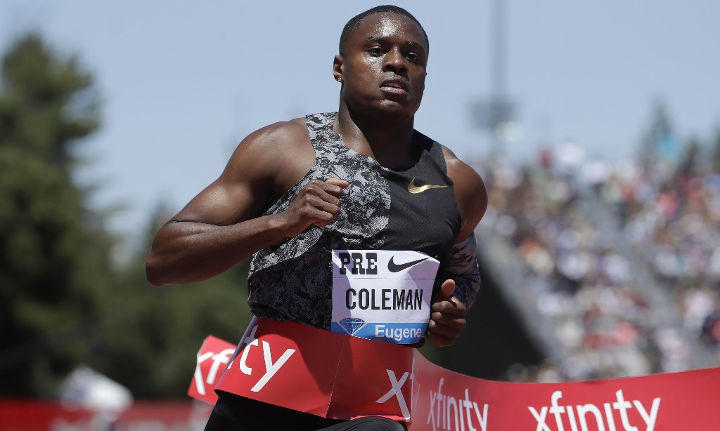 World 100m champion Christian Coleman hit with two-year ban