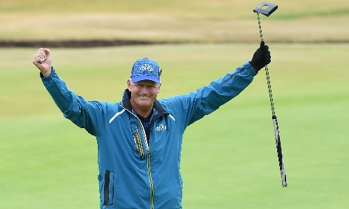Sandy Lyle signs off with a lump in his throat and plans for Royal Portrush