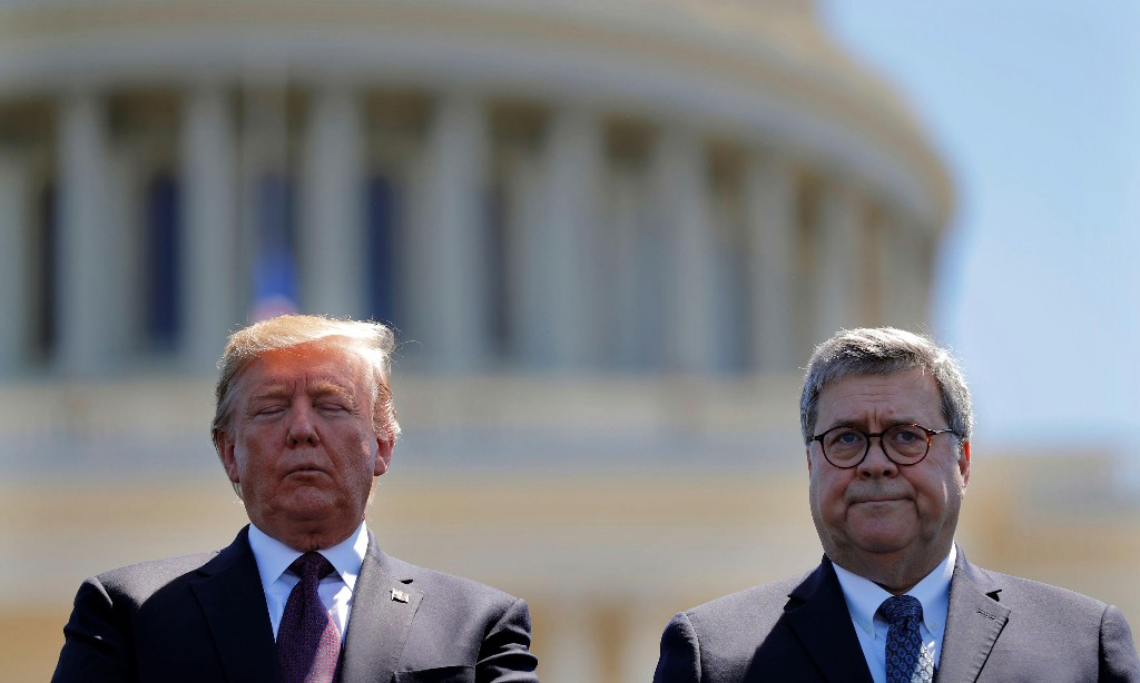 Is Trump's top cop, attorney general William Barr, a danger to democracy?