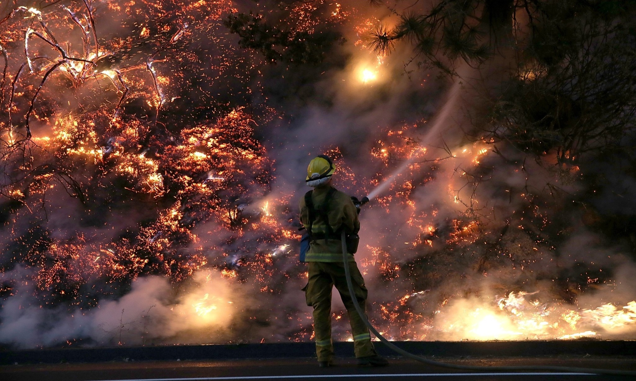 When firefighters speak out on climate change, we ought to listen up