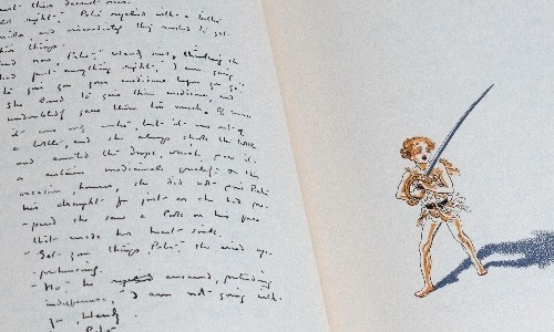 Peter Pan's dark side emerges with release of original manuscript