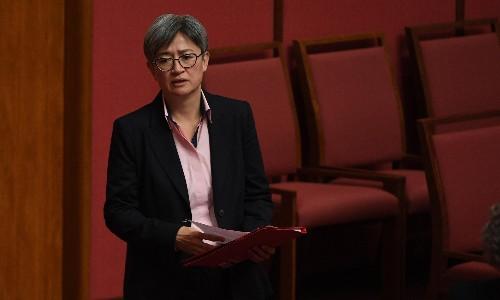 Penny Wong calls on diplomats to explain Australia-China relationship