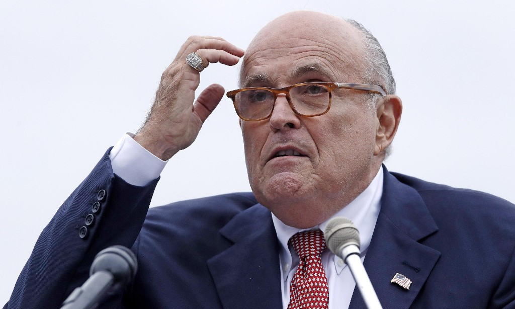 Giuliani's Borat scene is not surprising – we set a very low bar for powerful white men