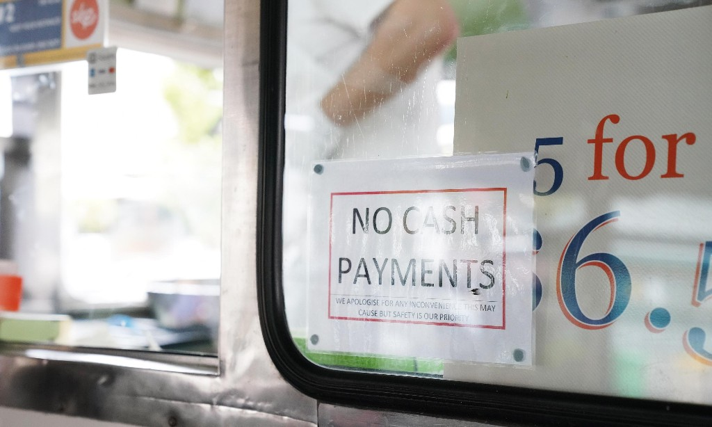 Coronavirus: contaminated money fears push Australia to card payments and cashless shopping