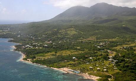 St. Kitts - Magazine cover