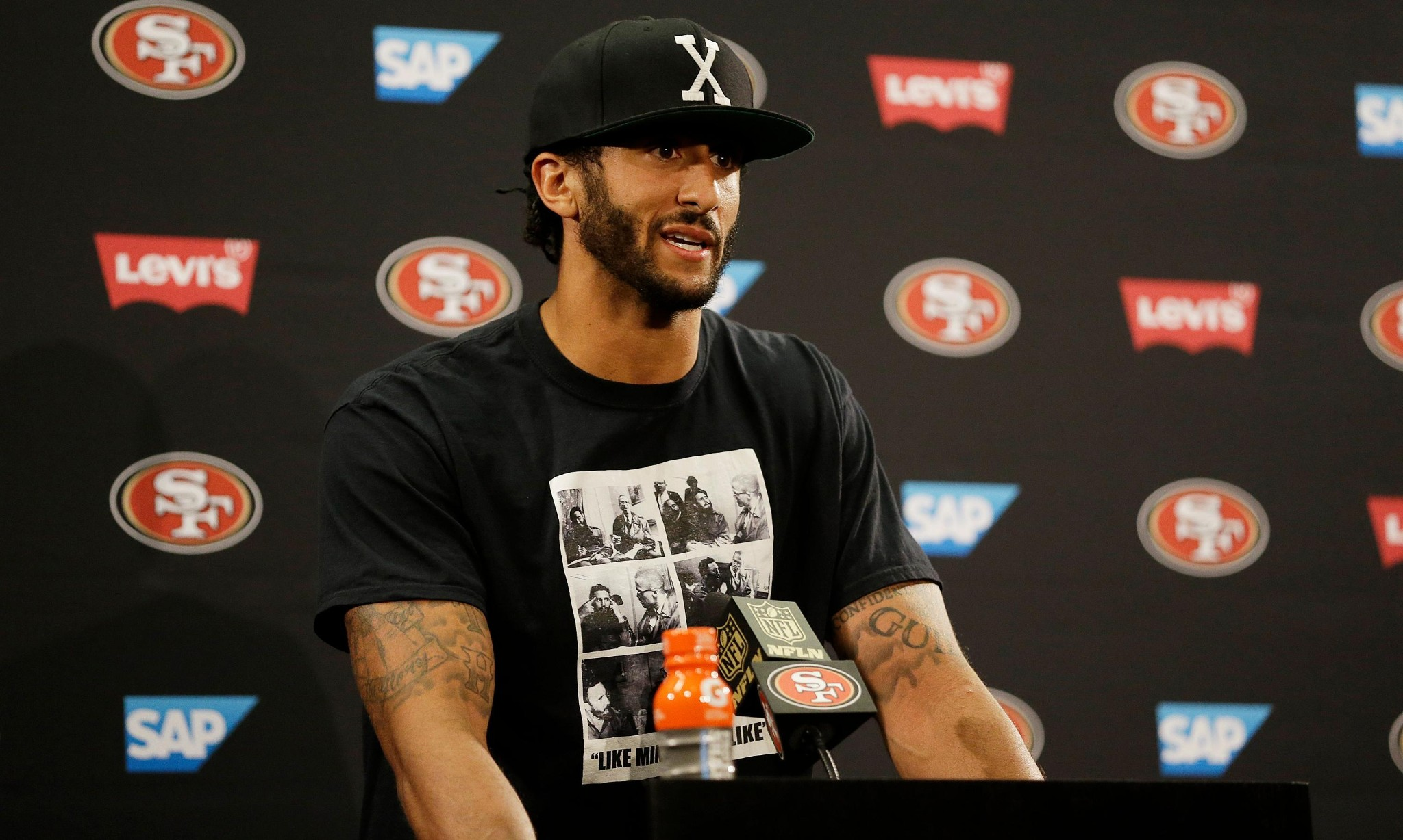 Colin Kaepernick's anthem protest is all the more brave due to his career slump