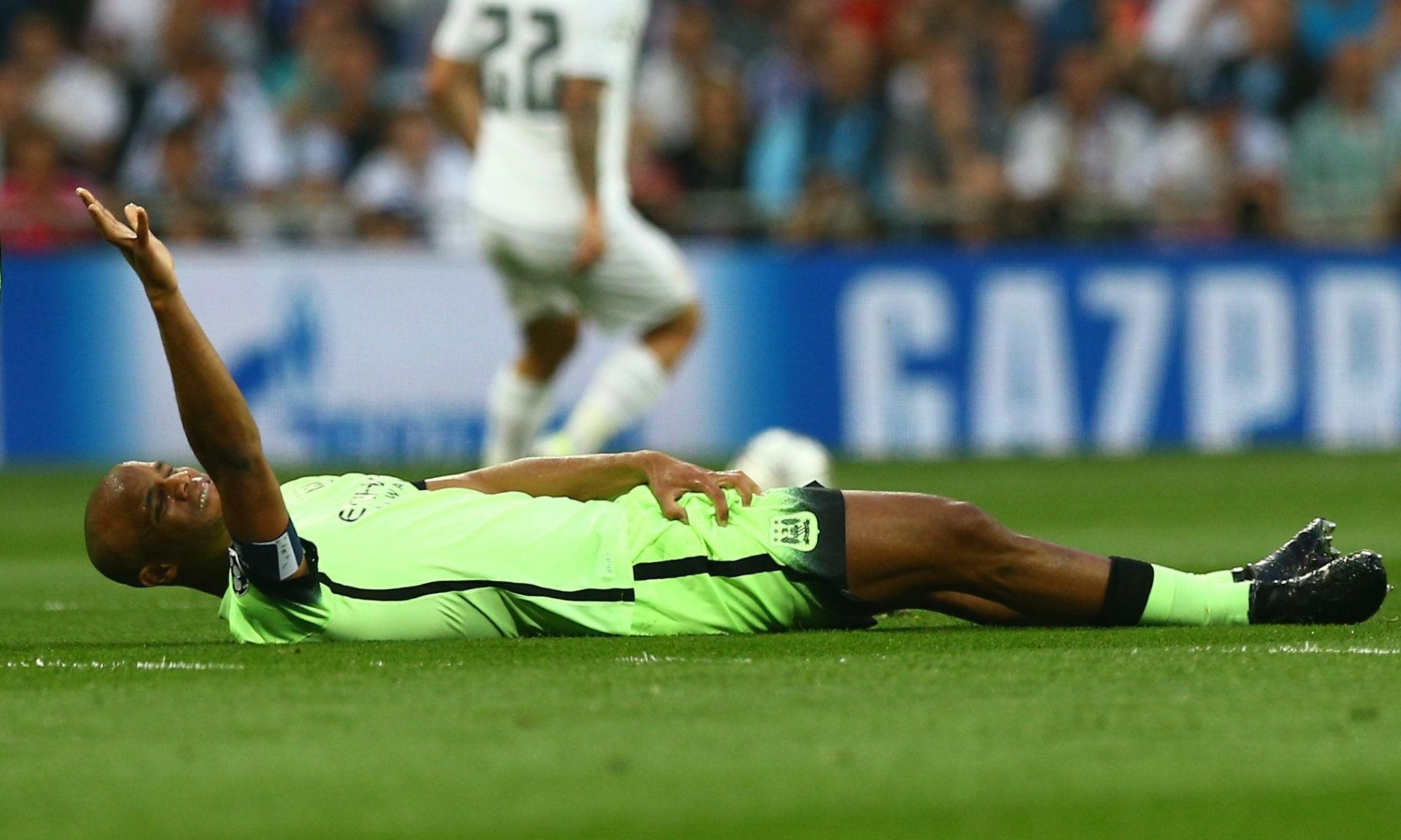 Pep Guardiola waits on Vincent Kompany's fitness for Manchester City