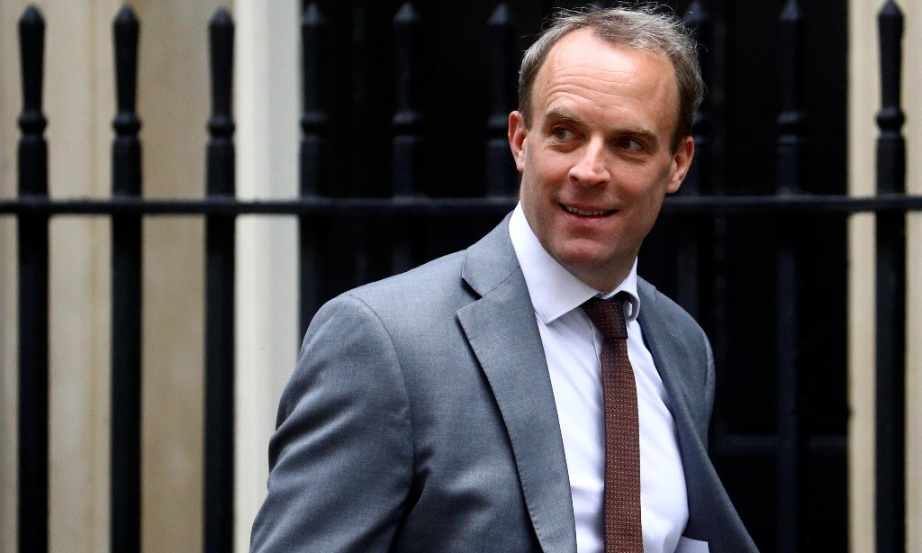 EU commission rejects Raab's claims in medical procurement row