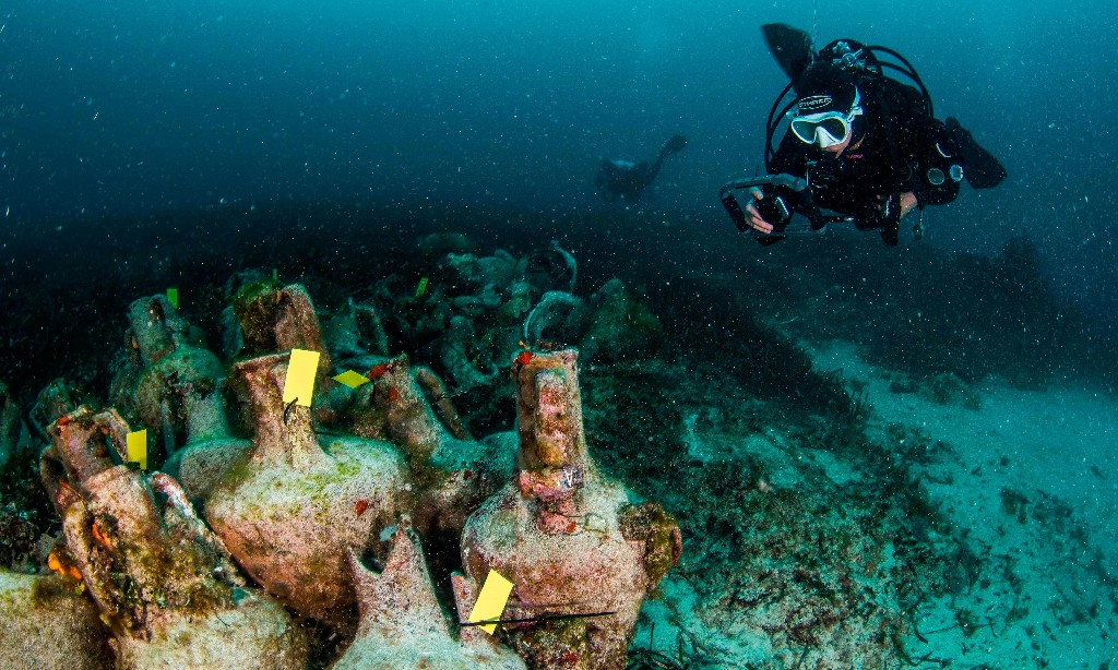 'Parthenon of shipwrecks': Greece opens its first underwater museum