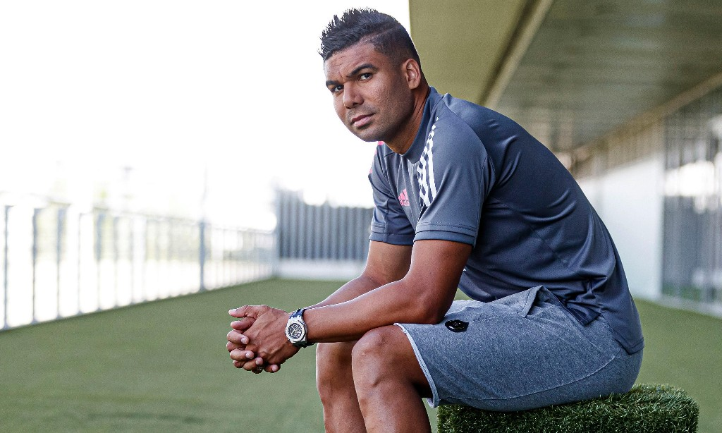 Casemiro: 'Even today I get a little nervous talking to Zidane'