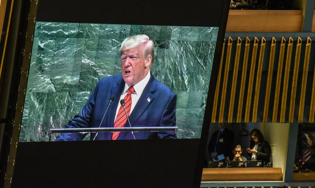 Trump's UN speech was a bizarre feat of gaslighting and fantasy