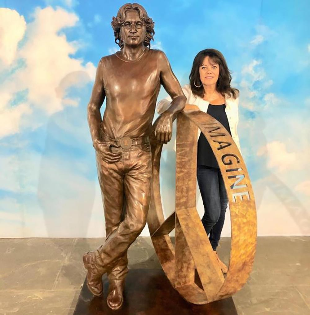 John Lennon statue tour proposed to mark Beatle's 80th birthday