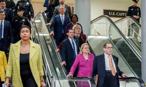 Passion, drama but little suspense as Democrats rest impeachment case