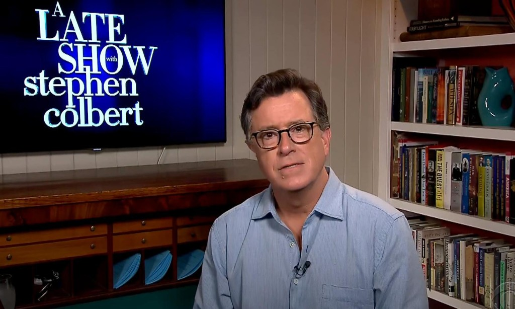 Stephen Colbert: 'A pandemic is not the best time' to ignore the CDC