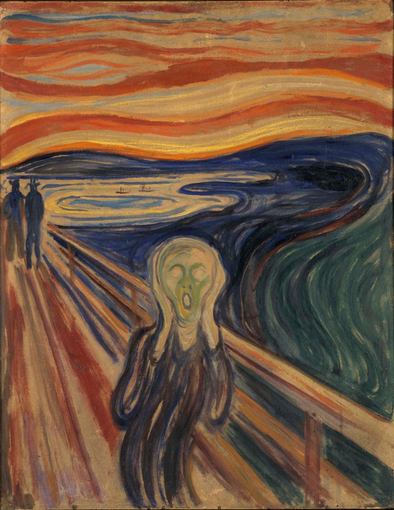 Edvard Munch's The Scream needs to practise physical distancing, say experts