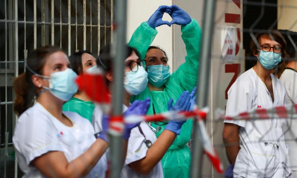 Europe's coronavirus numbers offer hope as US enters 'peak of terrible pandemic'