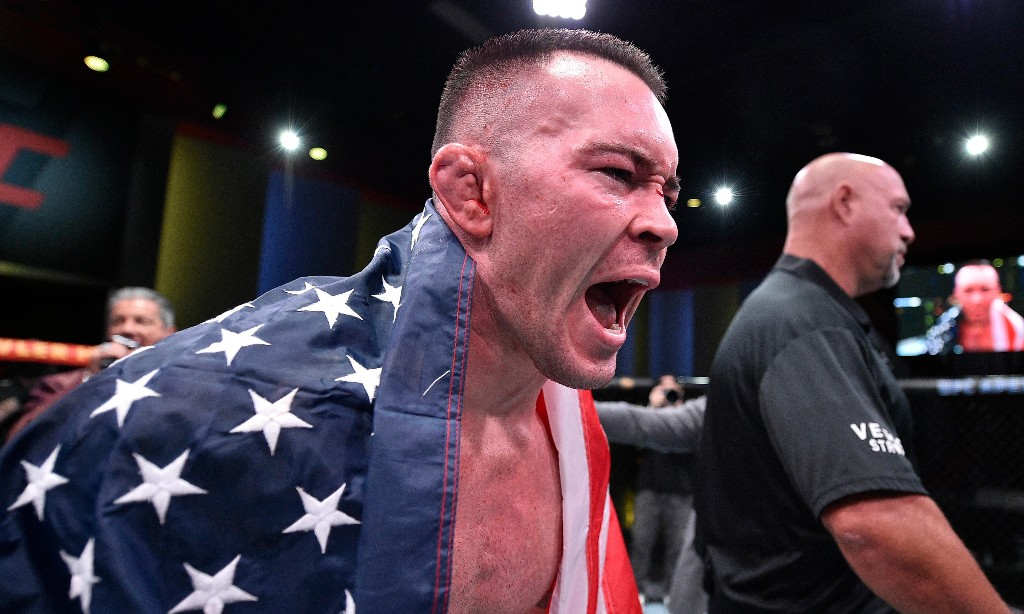 UFC's Colby Covington takes call from Trump, rips 'coward' LeBron after TKO