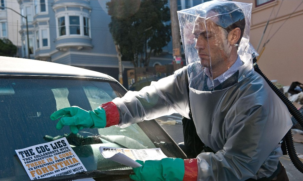 I feel fine: fans of world-ending films 'coping better with pandemic'