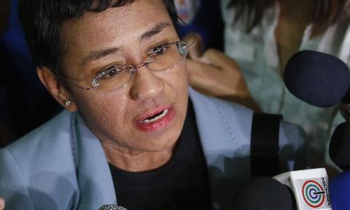 Rappler editor Maria Ressa: 'They could shut us down tomorrow'